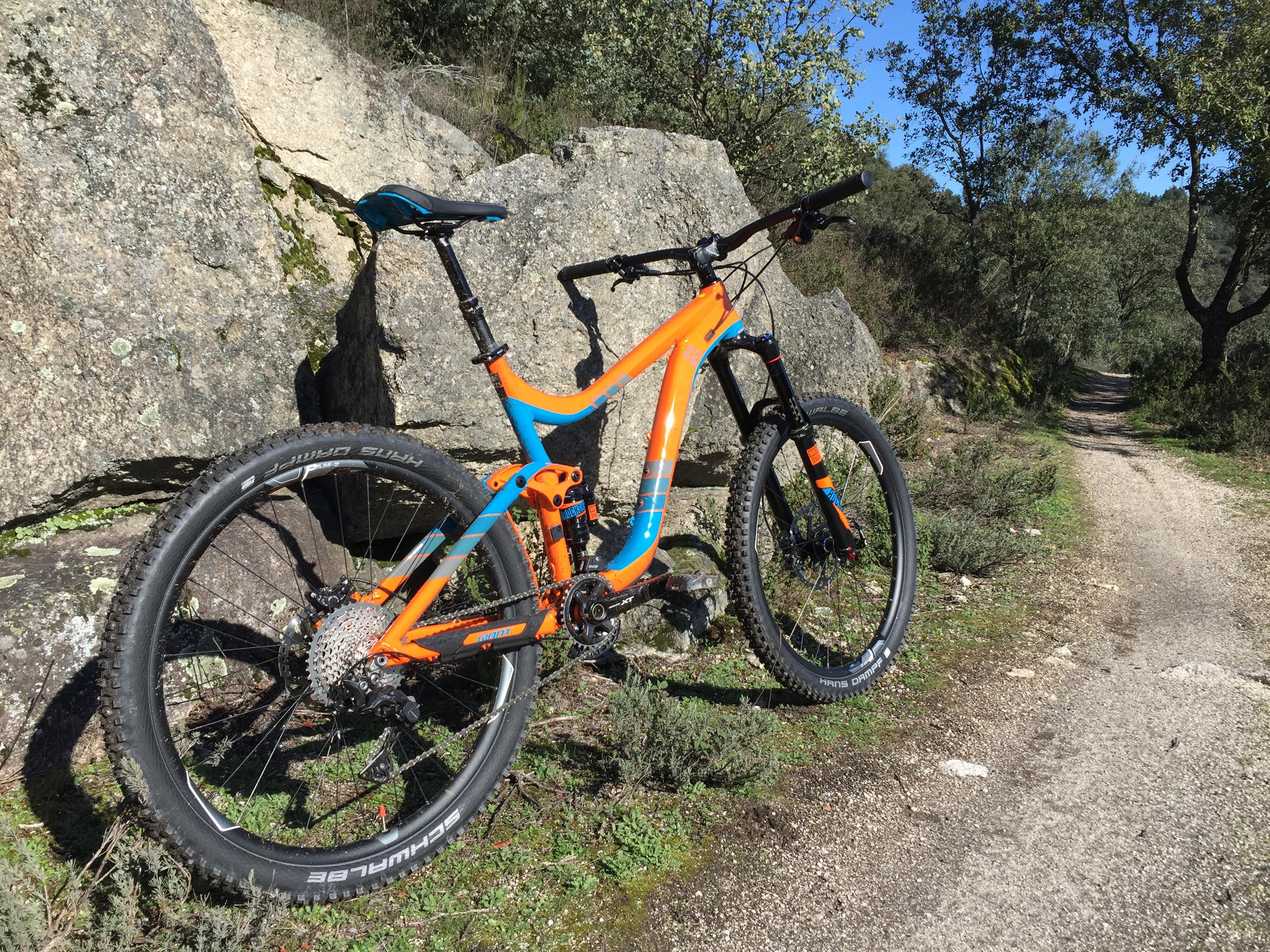 b44e851be3e Testing the Giant Reign 27.5 1.5 LTD 2016 - El Bierzo en bici